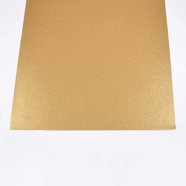 folia Glitterkarton gold 50x70cm 300g/m²