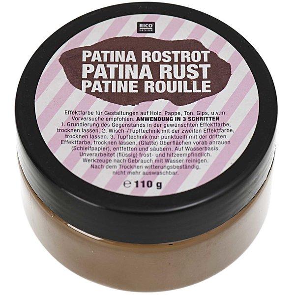 Rico Design Patina Rostrot 110g