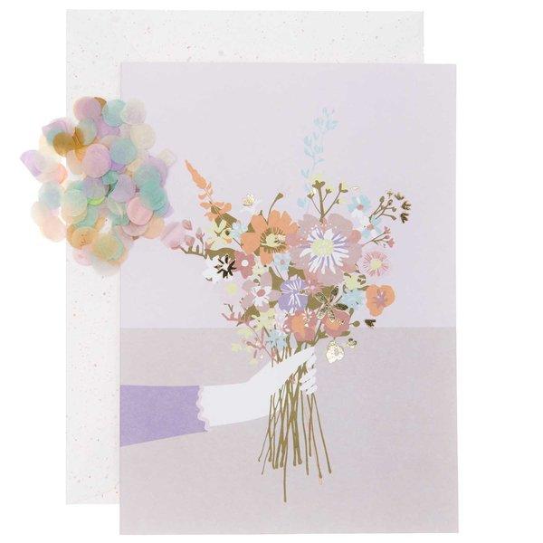Paper Poetry Grußkartenset Blumenstrauß
