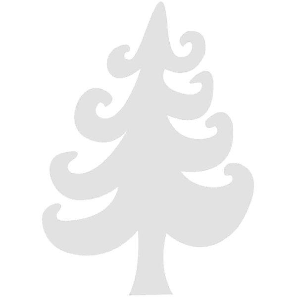 Rico Design Cardboard Tannenbäume 8,3x11,5cm 3 Stück