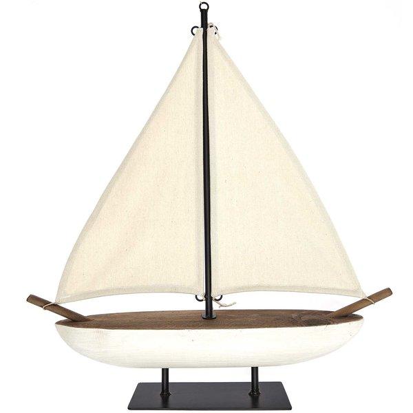 Ohhh! Lovely! Segelboot aus Holz 55x59,5cm