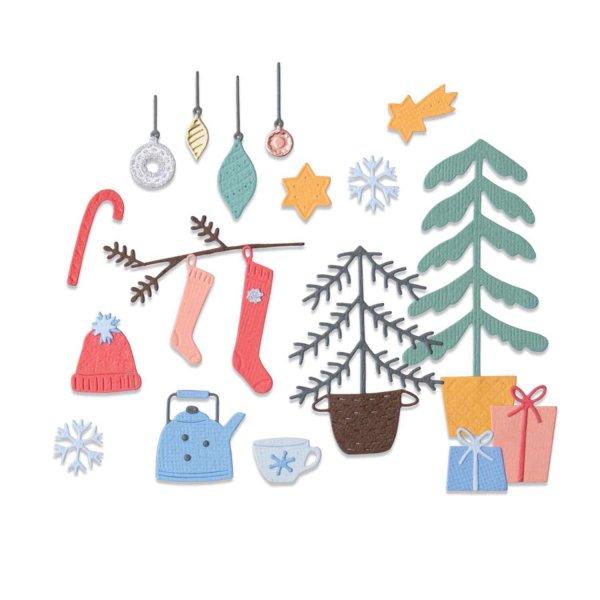 Sizzix Thinlits Die Set Christmas Cheer