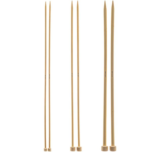 Rico Design Jackenstricknadeln 33cm Bambus