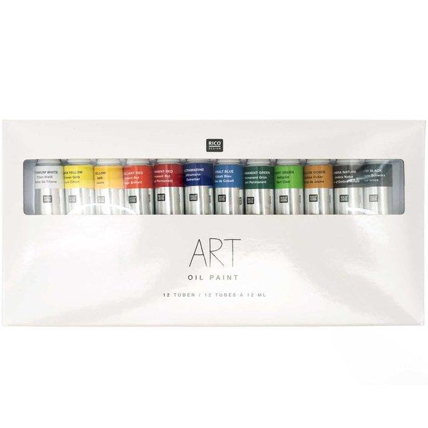 Rico Design ART Öl Color Set 12x12ml