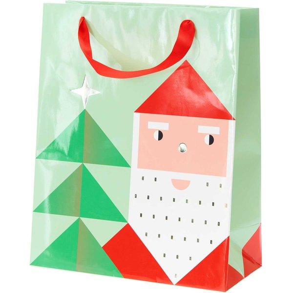 Paper Poetry Geschenktüte Weihnachtsmann 26x32x12cm