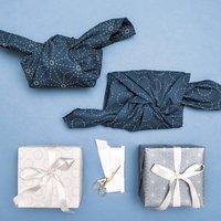 Anleitung Furoshiki Japanisch Geschenke mit Stoffen verpacken