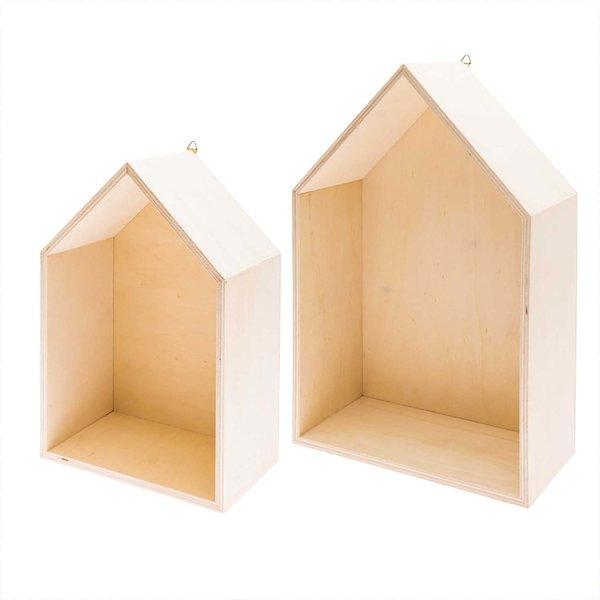 Rico Design Holzbox Haus
