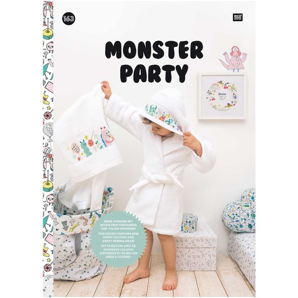 Rico Design Stickbuch Nr. 163 Monsterparty