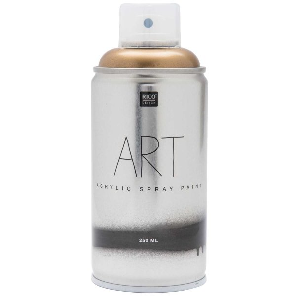 Rico Design Art Acrylic Spray Paint gold 250ml