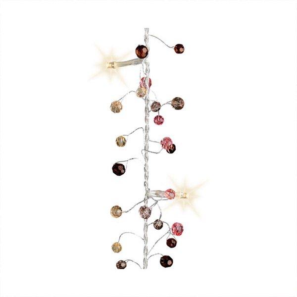 LED Perlen-Girlande batteriebetrieben warmweiß 150cm