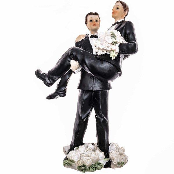 Hochzeitspaar Männer 14cm