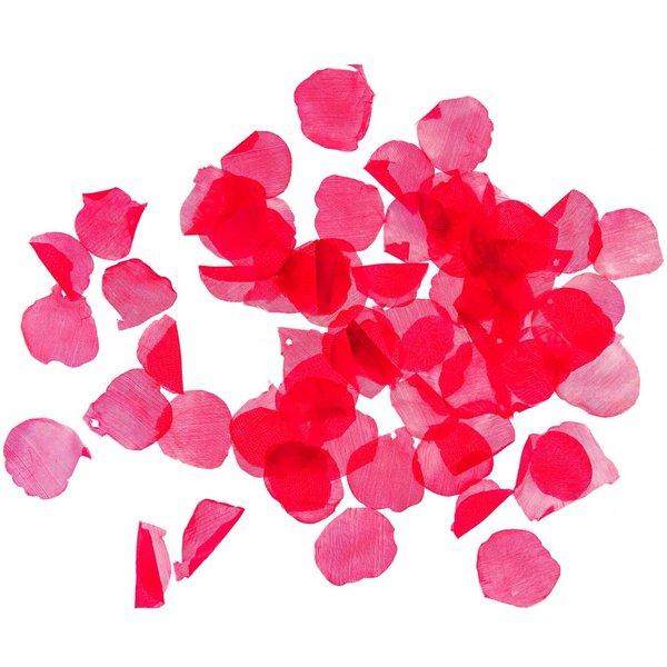 Streu Rosenblätter rot 3-4cm 144 Stück