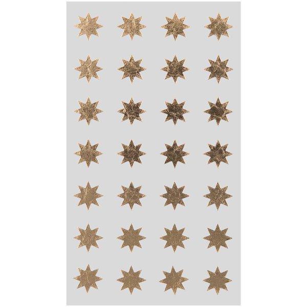 Paper Poetry Sticker Sterne gold 12mm 4 Bogen