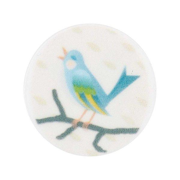 Rico Design Scheibe Kunststoff Vogel 30mm