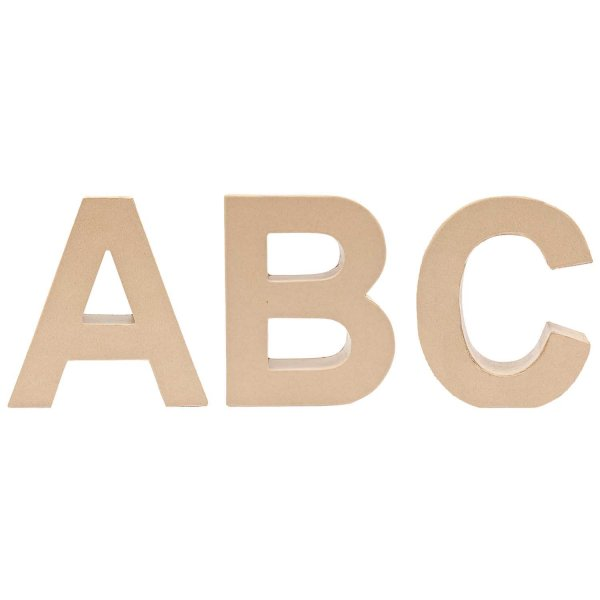 Rico Design 3D Pappbuchstaben stehend