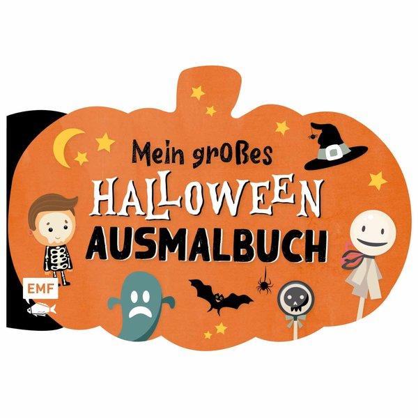 EMF Mein großes Halloween Ausmalbuch