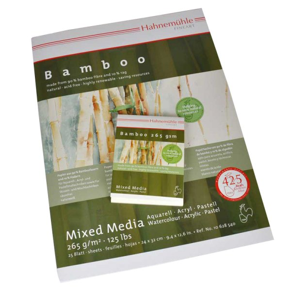 Hahnemühle Block Bamboo Mixed Media 265g/m²