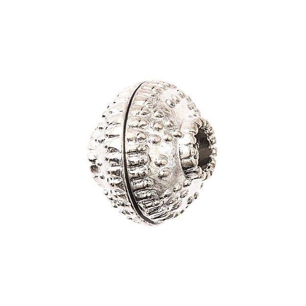 Jewellery Made by Me Metallkugel Ornament silber 12mm 4 Stück