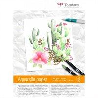 Tombow Aquarellblock satiniert 24x32cm 300g/m² 15Blatt