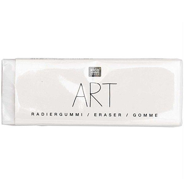 Rico Design ART Radiergummi weiß 5,5x2cm