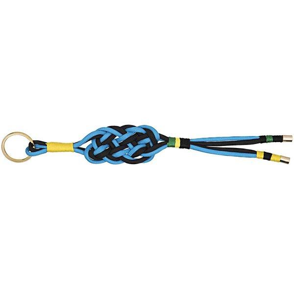 Jewellery Made by Me Paracord Schlüsselanhänger Set schwarz-blau