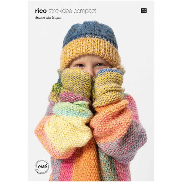 Rico Design Strickidee Compact Nr.1026 Creative Chic Unique