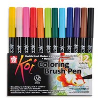 Koi Coloring Brush Pen 12teilig