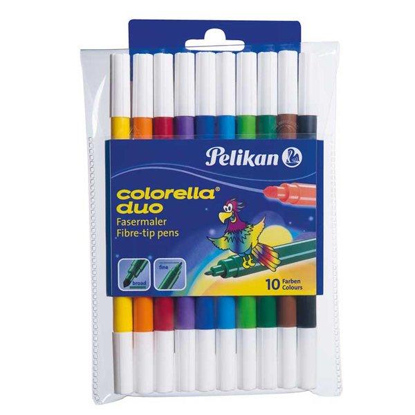 Pelikan Fasermaler Colorella Duo 10teilig
