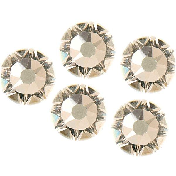 Swarovski® Klebesteine crystal 6mm 5 Stück