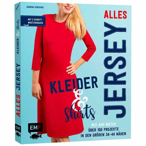 EMF Alles Jersey: Kleider & Shirts: Schnittteile kombinieren