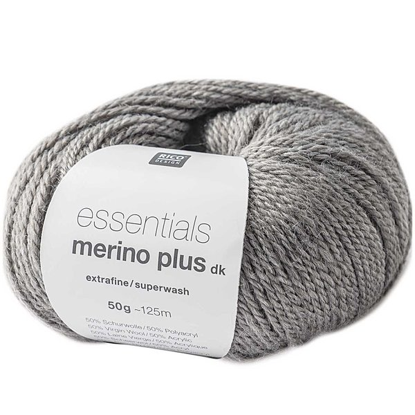 Rico Design Essentials Merino Plus dk 50g 125m