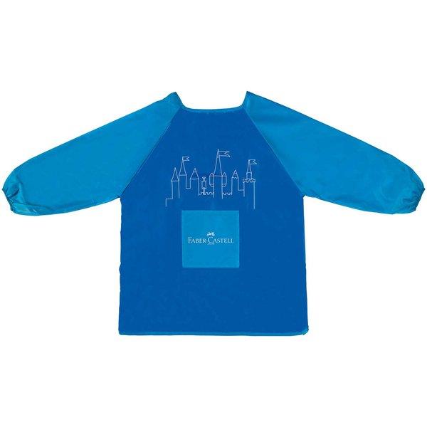 Faber Castell Malschürze für Kinder blau