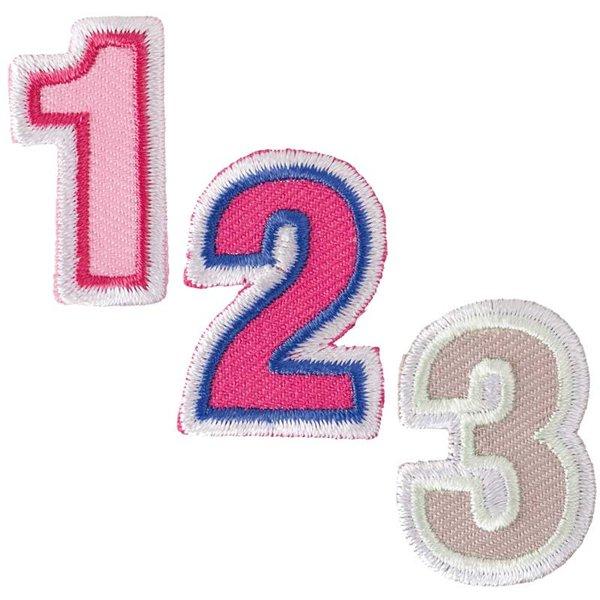Rico Design Patch Zahl zum Aufbügeln