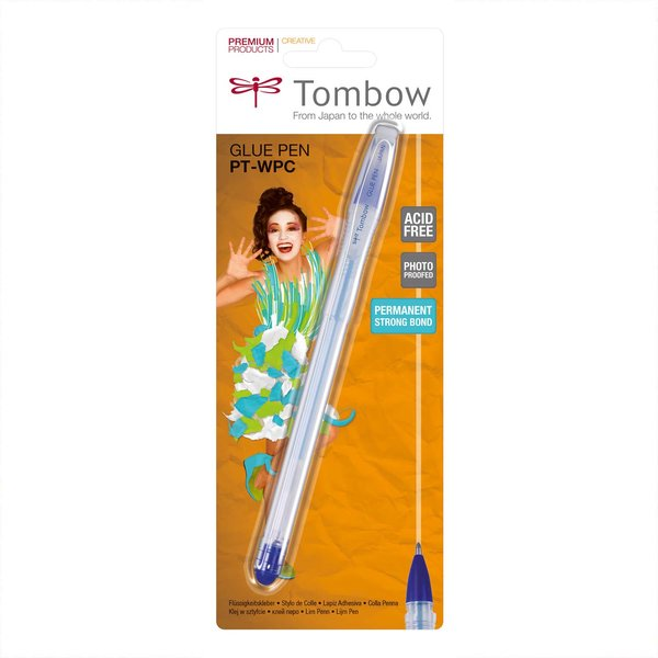 Tombow Glue Pen Klebestift extrafein 1mm 0,9ml