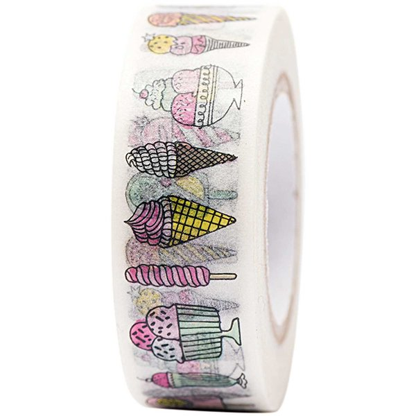 Paper Poetry Tape Eiscreme 15mm 10m