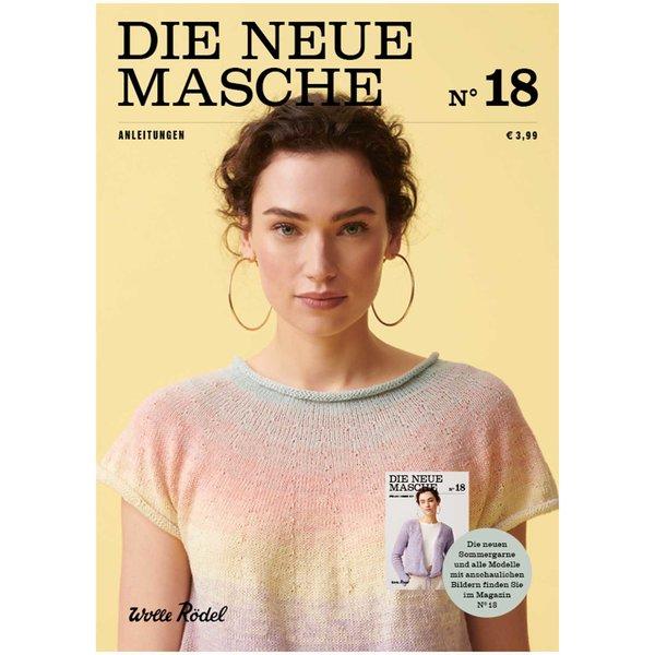 Wolle Rödel Die Neue Masche Nr. 18 Anleitungsheft Frühjahr-Sommer