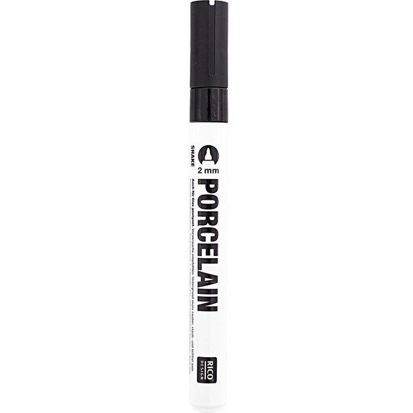 Rico Design Porzellanmarker schwarz 2mm