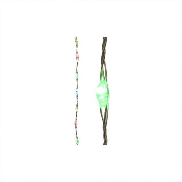 LED Micro-Kette Timer indoor extra bright-bunt 94cm