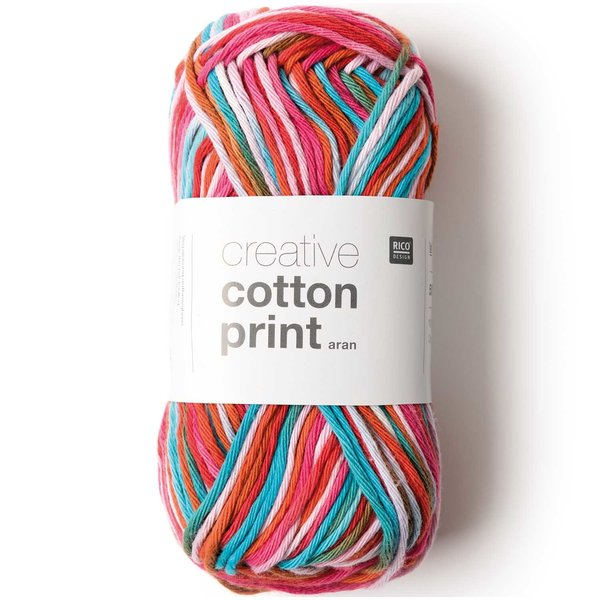 Rico Design Creative Cotton Print aran 50g 85m