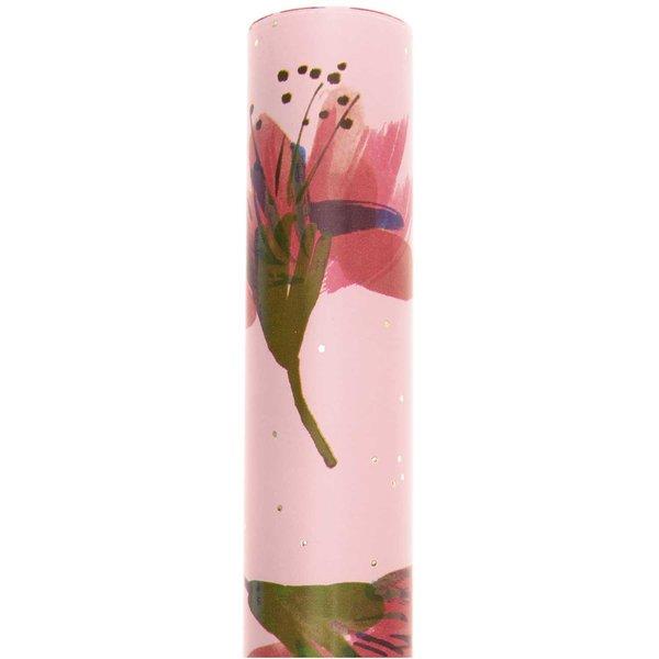 Paper Poetry Geschenkpapier Blüten rosa 70cm 2m 80g/m²