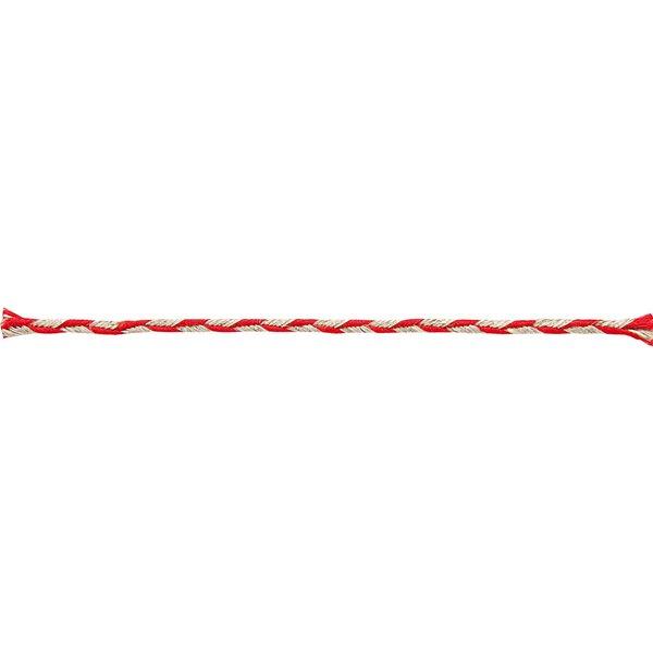 Rico Design Kordel natur-rot 3mm 2m