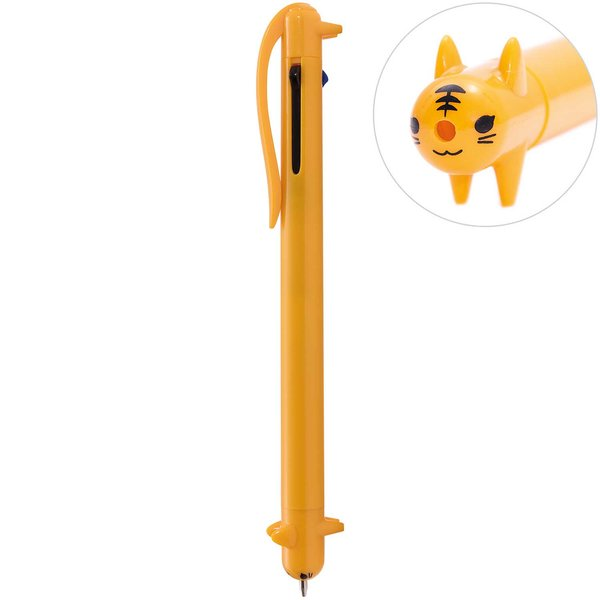 Paper Poetry mehrfarbig Kugelschreiber Tiger gelb 1mm