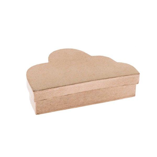 Rico Design Pappmaché-Box Wolke 9x5,5x3,5cm