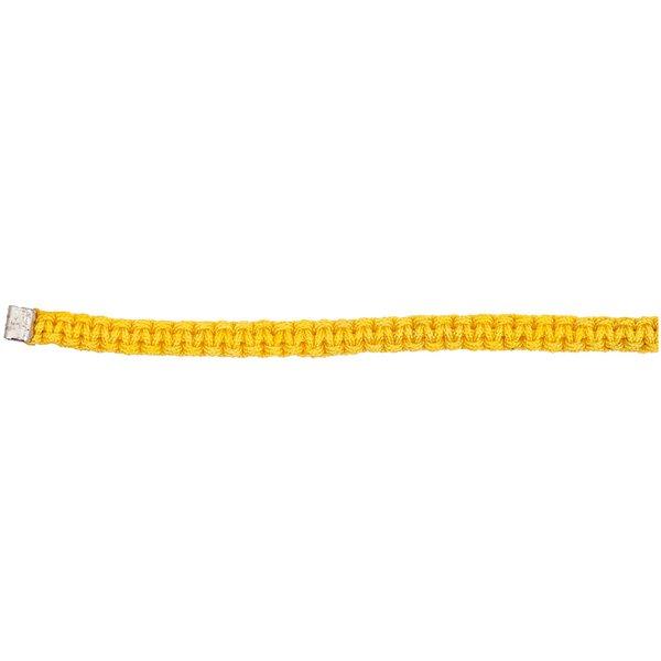 Rico Design Makrameeband gelb M/L 5x180mm