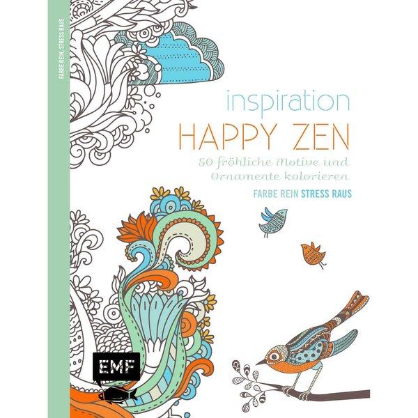 EMF Inspiration Happy Zen 50 Motive und Ornamente zum Kolorieren