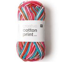 Rico Design Creative Cotton Print aran 50g 85m