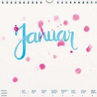 Anleitung Kalender gestalten