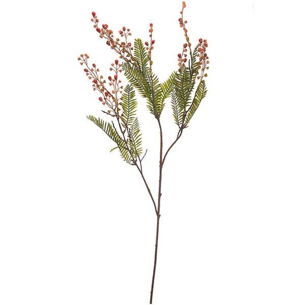 Wacholderzweig grün-rot 76cm