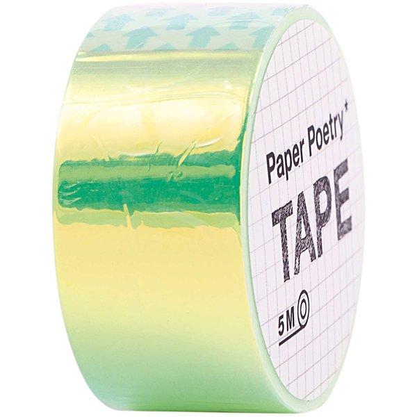 Paper Poetry Mirror Rainbow Tape grün 19mm 5m