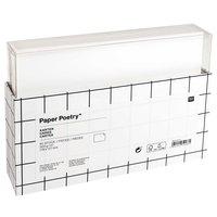 Paper Poetry Karten weiß 17,8 x12,7cm 300g/m² 60 Stück